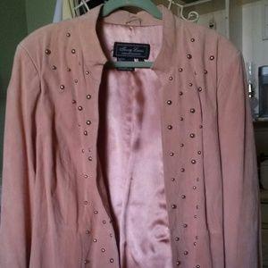 Woman's suede coat